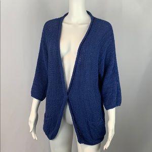 Gran Sasso Blue Handknit
